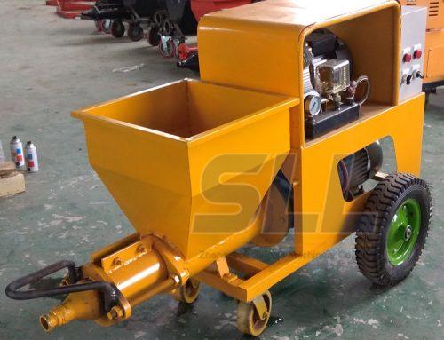 Mortar Spraying Machine Supplier