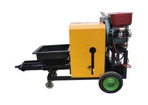 SLW180D wall mortar plastering machine