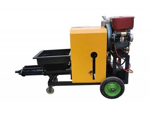 SLW150D Diesel engine wet mix mortar wall plaster machine